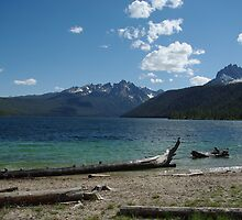 Redfish Lake, Idaho by Claudio Del Luongo