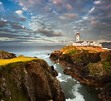 Fanad In Evening Light by Derek Smyth
