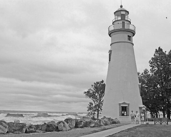 Cloudy Day At Marblehead by Jack Ryan
