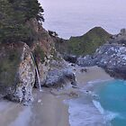 McWay Falls - Big Sur by Stephen Vecchiotti