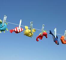 Toy sea animals by Cebas