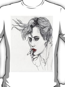 Girl with the Cigarette T-Shirt