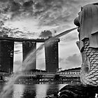 Merlion by RickyMoorePhoto