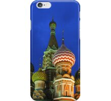 Saint Basil's Cathedral, Moscow iPhone Case/Skin
