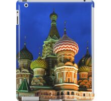 Saint Basil's Cathedral, Moscow iPad Case/Skin