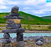 The Inukshuk by Chris  Gale