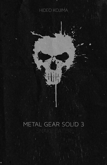 Metal Gear Solid Snake Eater Poster by Alex Zurita