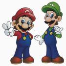Mario and Luigi Bros. by JamesSansom