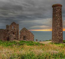 St Agnes Engine House by Jon OConnell