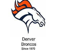 Denver Broncos by mitchrose