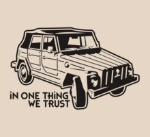 In one Thing we trust (black) by GET-THE-CAR