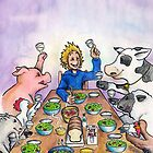 Vegan Thanksgiving by JohnnyGolden