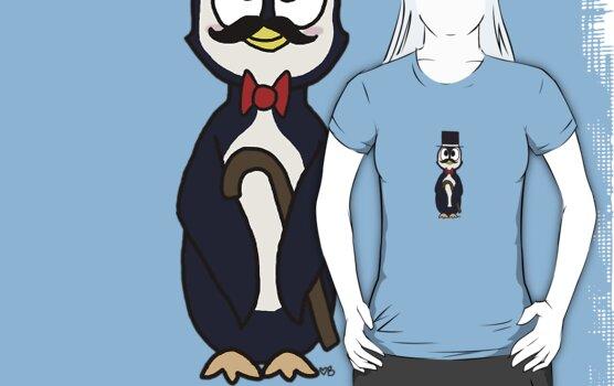 Dapper Penguin by Braang