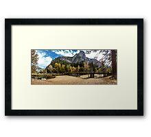 Fall Yosemite National Park Framed Print