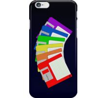 Taste the floppys disks iPhone Case/Skin