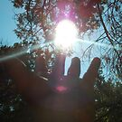 HOLDING THE SUN by marilittlebird