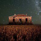 Burra North Ruin and Stars by pablosvista2