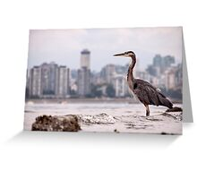 Guarding Vancouver Greeting Card