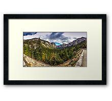Yosemite Panorama Framed Print