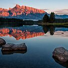 Lake Minnewanka Sunrise by James Wheeler