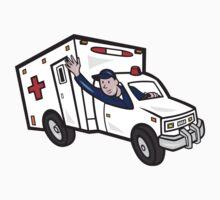 Ambulance Vehicle Emergency Medical Technician Paramedic  T-Shirt