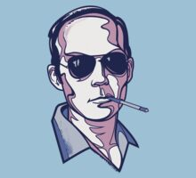 Hunter S. Thompson violet by Cloxboy