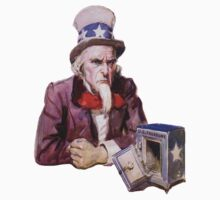 Uncle Sam with Empty Treasury Kids Clothes