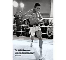 Muhammad Ali Poster Photographic Print