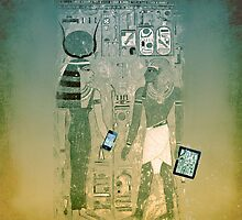 Wireless ancient Egypt by Luisa Fumi