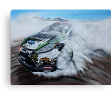 Ken Block Gymkhana Ford Fiesta Canvas Print