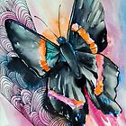 Black Butterfly by Slaveika Aladjova