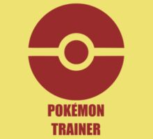 Subtle pokeball pokemon logo red - pokemon trainer by hellohappy