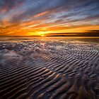 Allonby sunset by cieniu1
