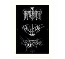 Best Ever Death Metal Bands Out Of Denton Art Print