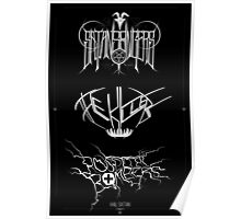 Best Ever Death Metal Bands Out Of Denton Poster