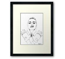 MADONNA 2 Framed Print