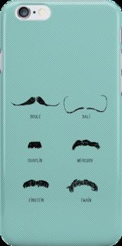 Famous Moustaches by SallySparrowFTW