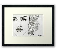 MADONNA 3 Framed Print