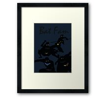 The Batfam in Young Justice Framed Print