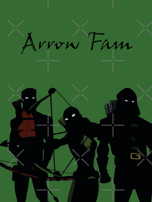 The Arrowfam in Young Justice by YJTees
