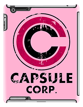 Capsule corp vintage version ( pink ) by karlangas