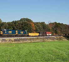 CSX Local Run by StonePhotos