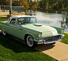 1957 Ford Thunderbird Lakeside by DaveKoontz