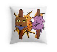 Illustration Marshmellow's Throw Pillow