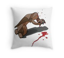Illustration Cigar Throw Pillow