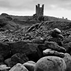 Dunstanburgh Tower by Brian Avery
