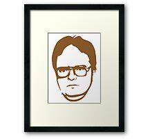Dwight Kurt Schrute Framed Print
