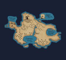 Map of Neverland by rebeccaariel