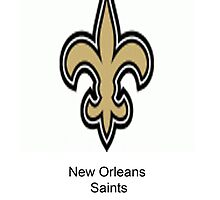 New Orleans Saints by mitchrose
