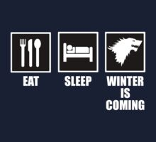 Eat, Sleep, Winter Is Coming by ScottW93